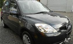 MAZDA,2,DY Series 2,2005, Front Wheel Drive, charcoal,