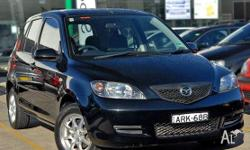 MAZDA, 2, DY Series 1, 2004, Front Wheel Drive, BLACK,