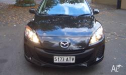 MAZDA 3 BLACK 2012 HATCH 0NLY 47000KMS LOG BOOKS