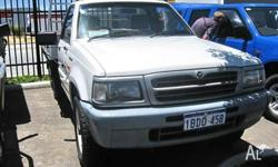 MAZDA,B2500,1998, C/CHAS, 2.5, 4cyl, MANUAL 4X4, BRAVO
