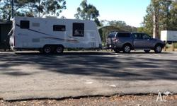 Mazda BT50 & a Jayco Stirling 21.6 ft. Both in A1