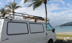MAZDA CAMPERVAN E2000 + SURFBOARD 6.4 ft. FOR SALE!!!!