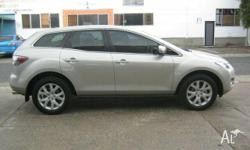 MAZDA,CX-7,2008, Silver, Grey trim, WAGON, 2.3L,