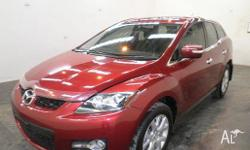 MAZDA,CX-7,ER,2007, AWD, RED, 4D WAGON, 2261cc, 175kW,