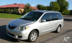 Mazda MPV, 2004 model, 3.0 V/6, 5 speed auto, 7 seater,