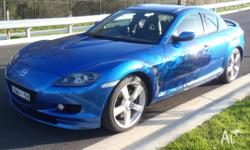 Hi. Here I have a 2004 Rx8 manual with long rego till