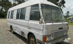 MAZDA T3000, 1983, PINK, Bus Conversion, 3000, 4cyl,