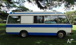 Amazing condition diesel motorhome that can be driven