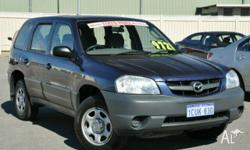 MAZDA, TRIBUTE, 2001, 4WD, Blue, 4D WAGON, 2967cc,