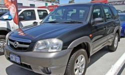 MAZDA,TRIBUTE,2004, 4WD, Green, 4D WAGON, 2967cc,