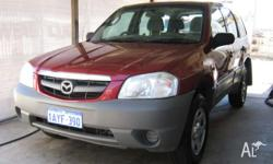 MAZDA, TRIBUTE, 2001, 4D WAGON, 3, 6cyl, AUTOMATIC 4X4,