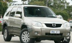 MAZDA,TRIBUTE,MY06,2006, 4WD, Gold, 4D WAGON, 2967cc,