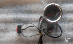MECHANICAL SPEEDO WITH ELECTRONIC TRIP WIRE. 48MM IN