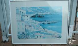Mediterranean Harbour by La Foret 715mm Wide 565mm