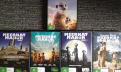 I have for sale these brilliant Meerkat Manor DVD's, I