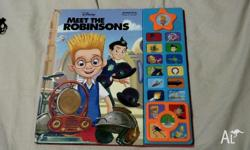 Meet The Robinsons Press Button Talking Book in good