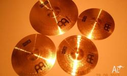 "Meinl HCS cymbal set in as new condition. 14"" hi hats"