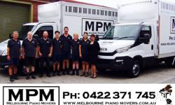 You've found your piano mover! MPM transports pianos