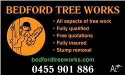 - All Aspects of Tree work, Stump removal in Melbourne