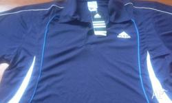 Men's Adidas Tops avalible in blue, orange , red and