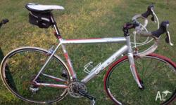 Men's Felt F95 road bike. 56cm bike. 700C wheels. Used
