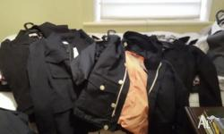 8 brand new assorted mens dress/casual jackets