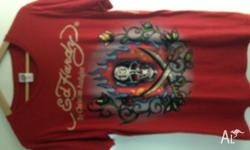 Mens Ed Hardy T-Shirts $15 Each Size Medium Excellent