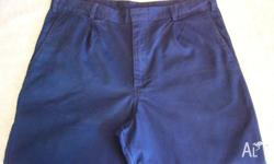 These blue king gee work trousers are a size 97R ,