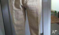Casual Cream Pants As New only worn couple of times.