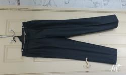 MENS LONG DRESS PANTS ( WASH 'N' WEAR ) NO NEED TO