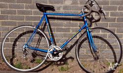 Classic vintage bicycle. Europa Tri 12 speed road
