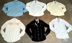 6 Mens Designer Shirts for sale Prices start from $15