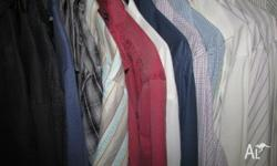 Large selection of men's short & long sleeve shirts