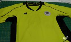 Mens Yellow/Black Gorilla Brand Size S -Sport shirt for