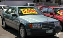 MERCEDES-BENZ,230,E,1987, Blue, SEDAN, PETROL,