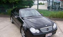 MERCEDES-BENZ, C200, CL203, 2001, RWD, Black, black