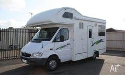 MERCEDES BENZ 6 BERTH MOTORHOMES, 2006, WHITE,