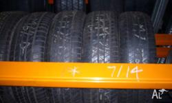 Mercedes Benz Tyres in size 195 65 15. Second hand used