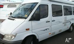 MERCEDES SPRINTER, 2001, 5 Speed Manual, Shower/Toilet,