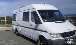 Very Low klm motorhome with stove ,tv,dvd,gas hws
