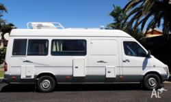 L.W.B.Mercedes Sprinter 312D 5 speed manuel Registerd