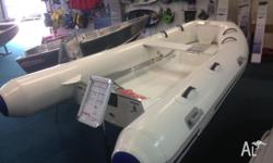 Our new Ocean Runner RIBs (Rigid Inflatable Boats) are