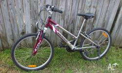 "18 Speed, Purple, 24"", Garaged Indoors, Front shocks,"