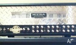 Mesa Boogie 3 Channel Dual Rectifier with footswitch