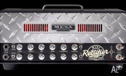 The Mesa Boogie Mini Rectifier Head is amazing. All the