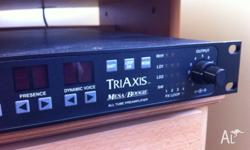 Mesa boogie triaxis guitar pre amplifier. 1 U Rack