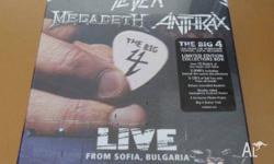 Up for sale is a sealed THE BIG 4 (METALLICA, MEGADETH,