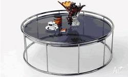 Metropol Snare Coffee Table ? Smoke tempered glass ?