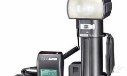 Top of the line pro flash. Metz 76 MZ5 plus P76 power