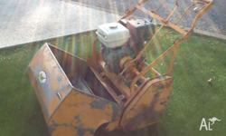 MEY Cylinder mower 30 inch cut with double clutch,